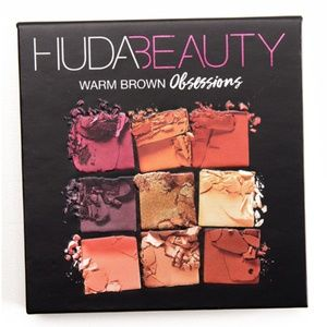 HUDA BEAUTY - Warm Brown Obsessions Palette